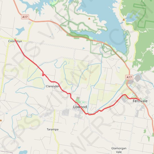 Brisbane Valley Rail Trail: Coominya - Fernvale GPS track, route, trail
