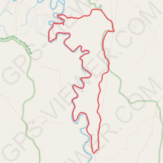 Lerderderg River - Western Plains GPS track, route, trail
