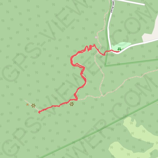 Mount Cooroora GPS track, route, trail