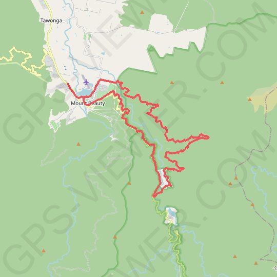 East Kiewa Valley - Mount Beauty GPS track, route, trail