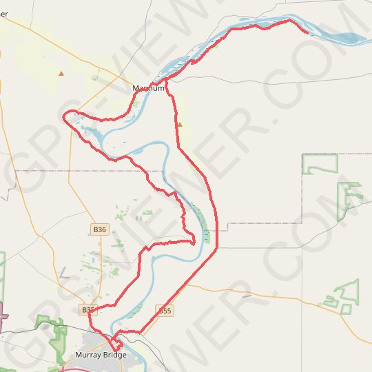 JDRF Murray River Raid GPS track, route, trail