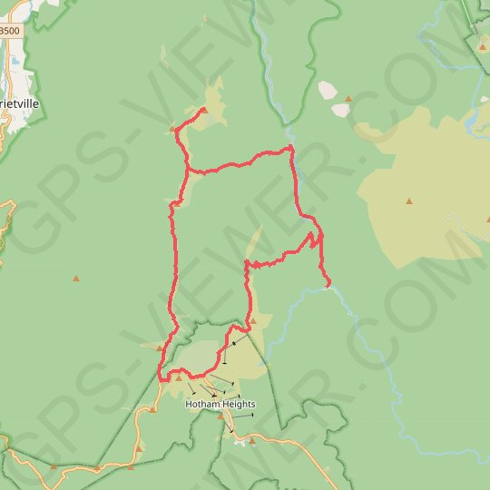 Hotham Loop GPS track, route, trail
